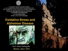 モスクワの学会でアルツハイマー患者におけるFPPの酸化ストレスへの影響について発表