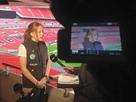 Alice Powell 女性トップアスリートとしてTVインタビューを受けました!