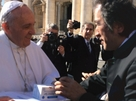 FPP handed to Pope Francis