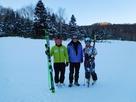 スキークロスの湯本祐太郎選手、後村茜選手を応援しています