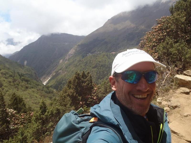 マラソンマンが「エベレストマラソン」のためネパール入り