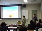 生命システム科学特別講義 県立広島大学にて副所長 奥田祥子が予防医学についての講演を行いました