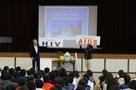 大野町立北小学校「生き方を学ぶ会」で理事長 林が講演